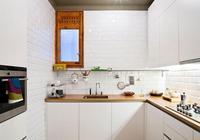我們可以用收納來節約小家電所佔空間,從而放大廚房面積