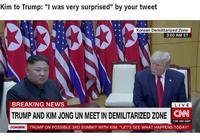 金正恩對特朗普說:得知你在推特上發出邀請,我感到非常驚訝