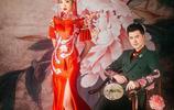 現在婚紗照都流行這麼拍,30張現代古裝讓你拍出最美的中國風