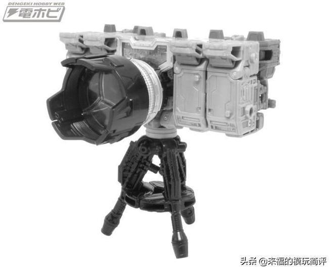 日版 塞伯坦之戰 圍城 D級 照相機 灰模 官圖