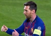 歐冠-梅西2射2傳蒂尼奧建功 巴薩5-1總分5-1里昂進八強