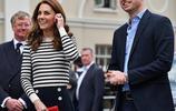 英國威廉王子夫婦出席公開活動,他們對新生的王侄表示興奮不已