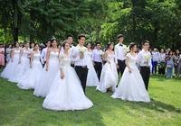 北京理工大學第一屆研究生畢業集體婚禮成功舉辦
