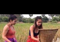 柬埔寨旅行記三(柬埔寨的女孩)
