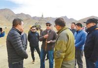 上海市第八批援藏幹部全身心融入援建工作