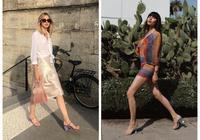 今夏流行方頭鞋,這3雙時髦精都愛穿,尤其適合腳大的你