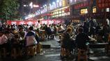 實拍重慶火鍋一條街人海場面,14張圖片告訴你吃火鍋到底有多火爆