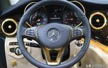 奔馳V級商務車內飾鍍金,開啟金色時代