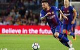 足球西甲比賽,巴塞羅那VS馬拉加!足球巨星梅西展超凡球技