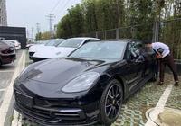 19款保時捷帕拉梅拉提車,2.9T發動機,選配到了160多萬