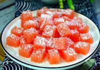 我家孩子最愛吃的果凍,酸爽生津,只用幾個西紅柿,比買的好多了