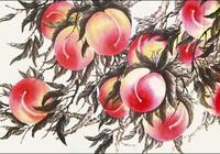 桃子畫的很美吧——中國畫技法源於臨摹 成熟於創新