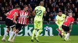 巴薩2-1埃因霍溫 梅西成歐冠為單一俱樂部進球最多球員