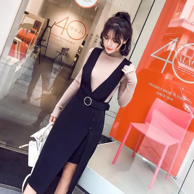 腿粗的女人最適合穿這樣的套裝,分分鐘穿出筷子腿,時髦得不得了