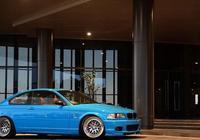 """捕捉到一隻""""藍色小精靈"""" 寶馬BMW E46 M3 !"""