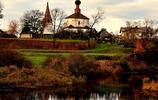 旅行遊記蘇茲達爾克里姆林這座教堂是小鎮最美的四周是漫坡小山丘