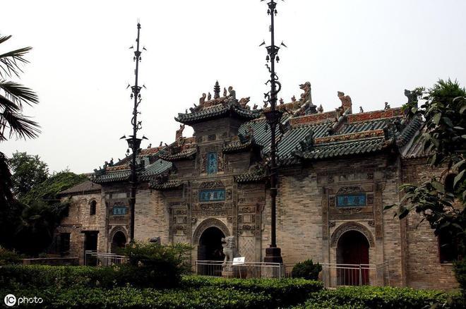 它堪稱中國古代建築的傑作,這裡的磚雕更是被稱為巔峰之作