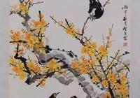 李智民花鳥畫欣賞