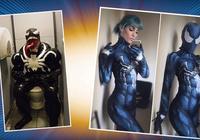 連最難COS的毒液都還原了?外國人對於cosplay真有種族天賦吧