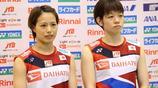2019年5月8日-羽毛球:日本國家隊訓練在東京,日本。