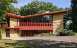 看看傳奇建築師弗蘭克·勞埃德·賴特設計的房子