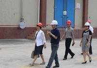 市糧食局陳麗華局長帶隊調研中央儲備糧惠州直屬庫