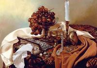 俄羅斯藝術家Alexei Antonov靜物油畫作品(上)