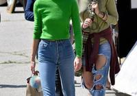 傑克遜女兒帕麗斯·傑克遜和肯達爾·詹娜相約逛街,時尚漂亮