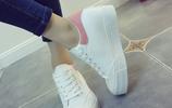 時尚清新的小白鞋,百搭不過氣,旅遊街拍的首選