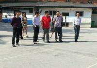 瀘州市教育局局長黃輝到河東小學調研