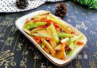 豆乾炒芹菜
