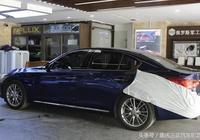 英菲尼迪汽車音響改裝英菲尼迪Q50升級歌詩尼169H3三分頻