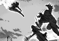 一拳超人:餓狼激戰黃精後變牛角狀態,若對戰天然水結果截然不同
