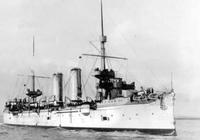 定遠艦擊中敵軍偷襲的魚雷艇,是甲午海戰中唯一被擊沉的日軍軍艦