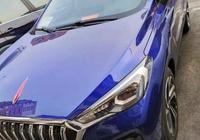 全國首輛紅旗E-HS3到店,藍色實車質感不俗,又一國產爆款來了