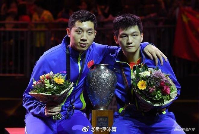 恭喜樊振東\/許昕男雙奪冠,馬龍許昕會師男單半決賽