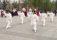 互助縣第九屆老年人運動會在青稞酒文化廣場舉行