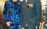 劉德華出席《拆彈專家2》煞科宴,一身牛仔的穿搭詮釋硬朗型男