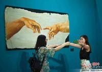 米開朗基羅特展在北京鳥巢開幕