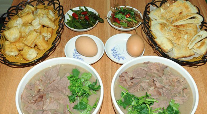 沂蒙山區的瑰寶,肉湯中的貴族,糝sá