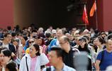 """近600歲紫禁城國慶假期""""裝滿""""遊客,玄武門外遊人如織 寸步難行"""