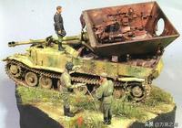 庫爾斯克會戰中的一場小戰鬥細節,覆滅的斐迪南殲擊車