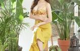 韓國女團Rainbow吳勝雅代言內衣品牌,性感火辣的身材被網友熱議