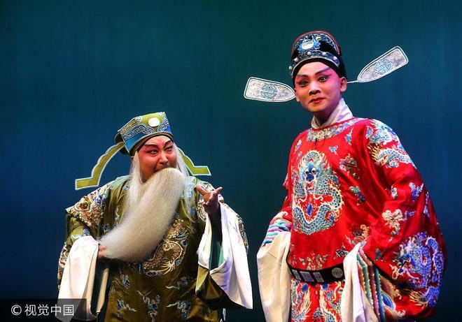 西安秦腔劇院復排演出傳統秦腔《胭脂》