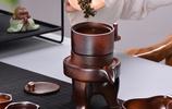 老闆請喝茶,這樣的茶具真讓我開眼界!等發工資了一定也買一套