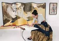 央美才女,被譽為最年輕造龍師,把王者榮耀楊貴妃畫成敦煌壁畫