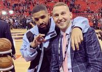 斯陶斯卡斯晒與Drake合影:來得早不如來得巧