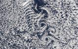 太空看世界:大氣中最奇妙的雲,超乎想象的卡門渦街