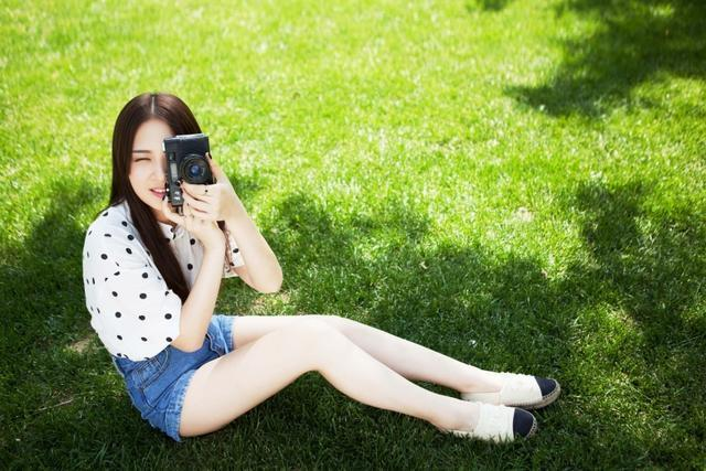 人像攝影:攝影學妹