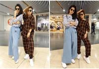 任家萱任容萱姐妹倆也加入睡衣時尚的行列了